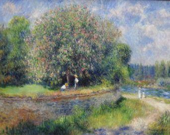 Auguste Renoir Chestnut Tree in Blossom 1881