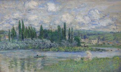 Claude Monet View of Vetheuil-sur-Seine 1880