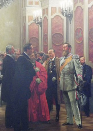 Crown Prince Friedrich at theCourt Ball 1878