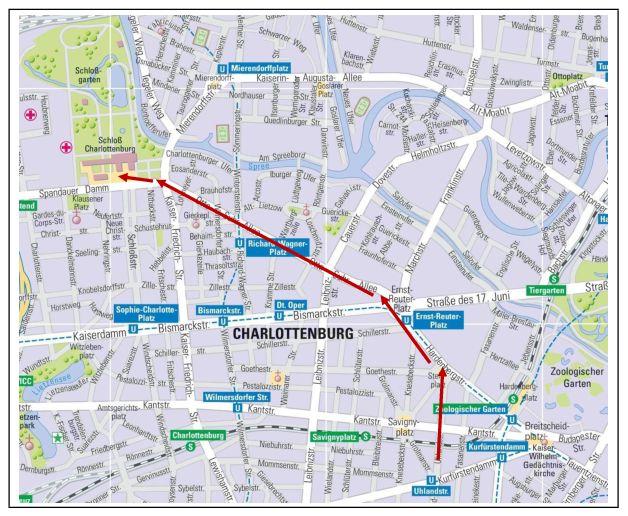Ride to Charlottenburg Palace