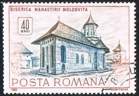 Posta_Romana_-_stamp_-_Church_Moldoviata_-_2715