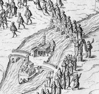 por Tiber Isola 1575