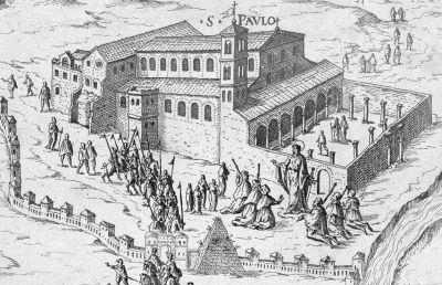 Porta San Paolo 1575