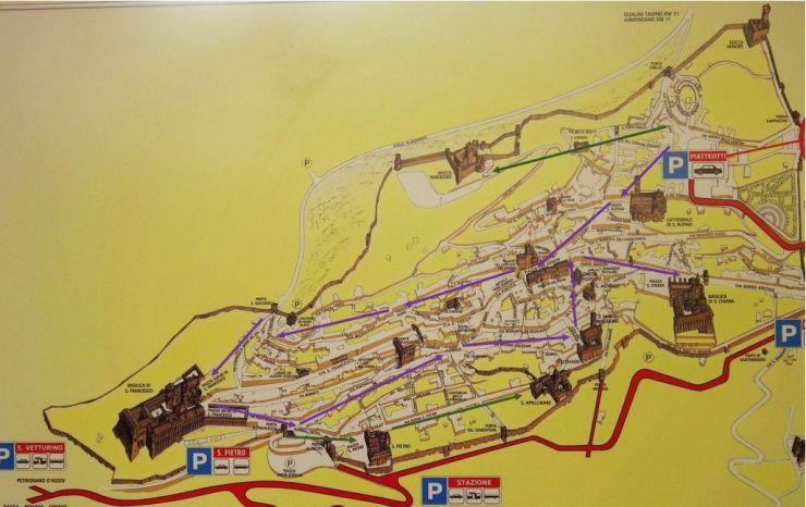 Assisi Map 2