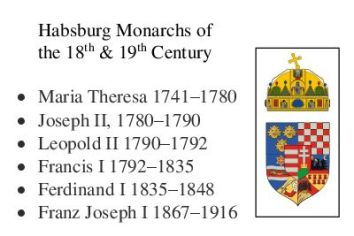 Habsburg Monarchs