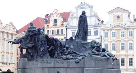 Jan Hus memorial a