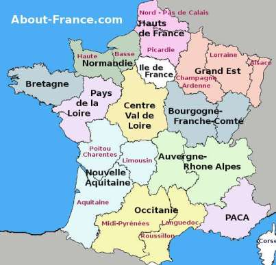 FRance 13 regions