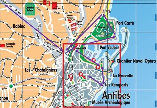 antibes 4 map