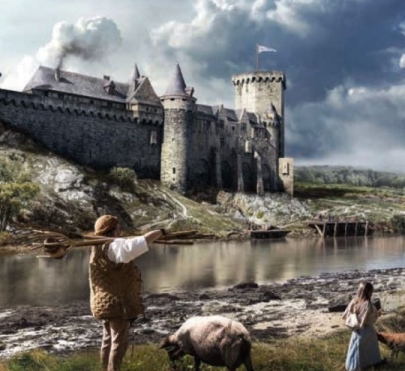 Auray Castle
