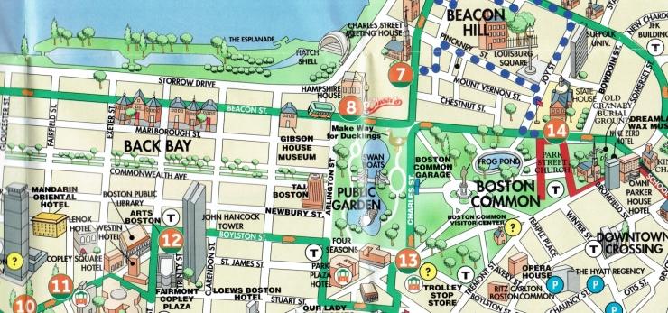 Boston Trolley Map 1b