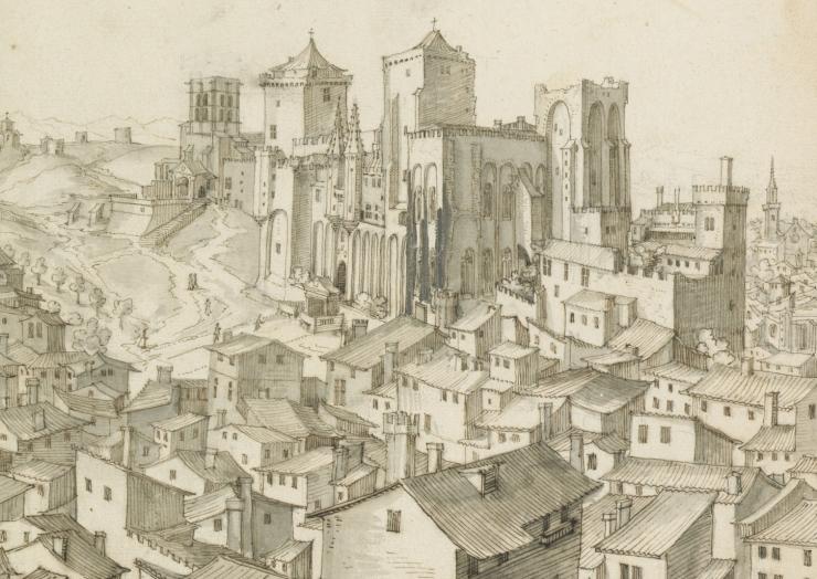 Martellange_Avignon_detail_Palais_des_Papes 2