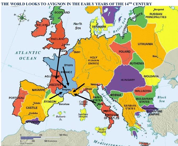 Pressure on Avignon