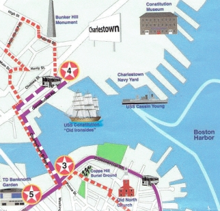 Boston Trolley Map a