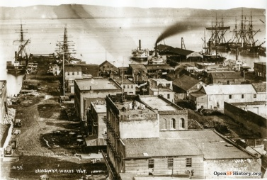 Broadwat wharf 1867
