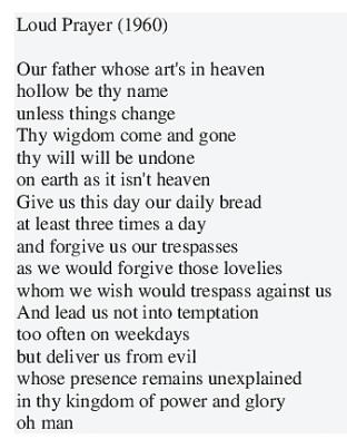 Loud prayer