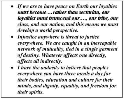 MLK inscript