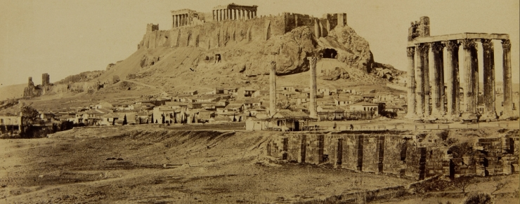 The_Temple_of_Olympian_Zeus_and_the_Acropolis_in_the_background 1865 a