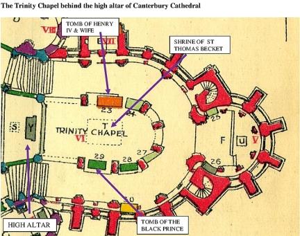 Trinity Chapel Map