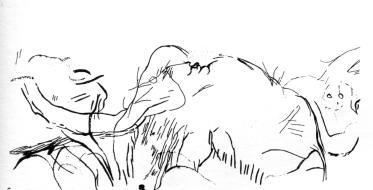 combarelles mammoth 2