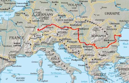 Danubemap