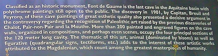 Font De Gaume 2011 #4a