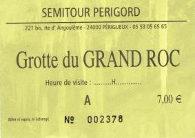 Grand Roc ticket
