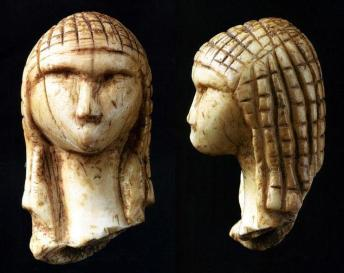 Venus_of_Brassempouy made from Mammoth Bone