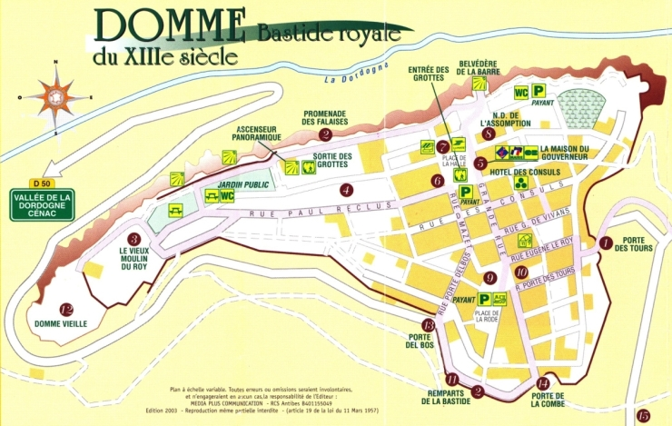 0 Domme-Map