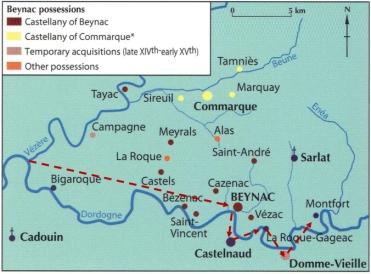 Dordogne River Castles