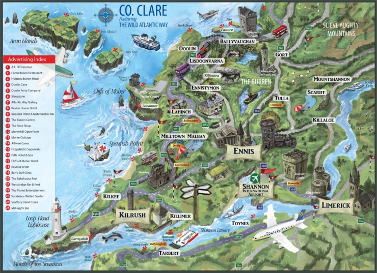 0 County-Clare-Map