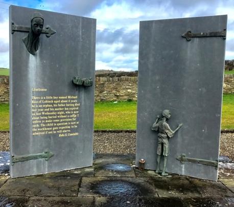 0 Ennystimon Famine Monument