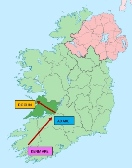 0 Map to Adare