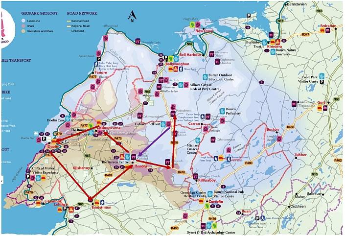 The Burren map 2a