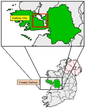 0 County Galway Map